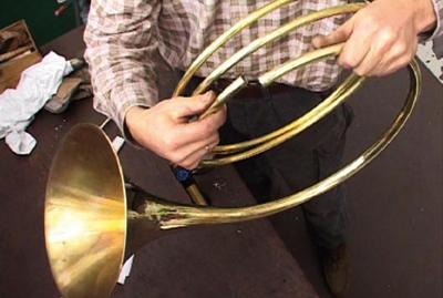 Fabrication d'une trompe Périnet