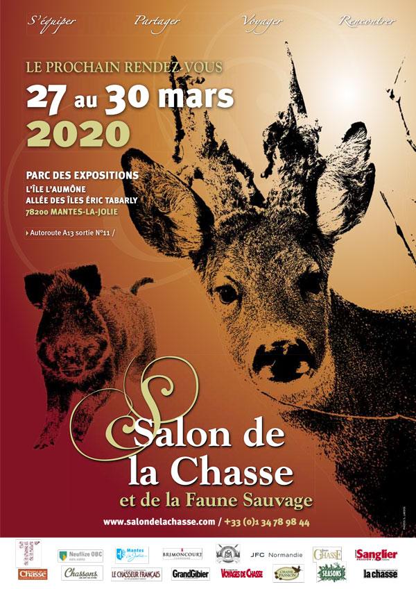 Affiche salon de la chasse et de la faune sauvage