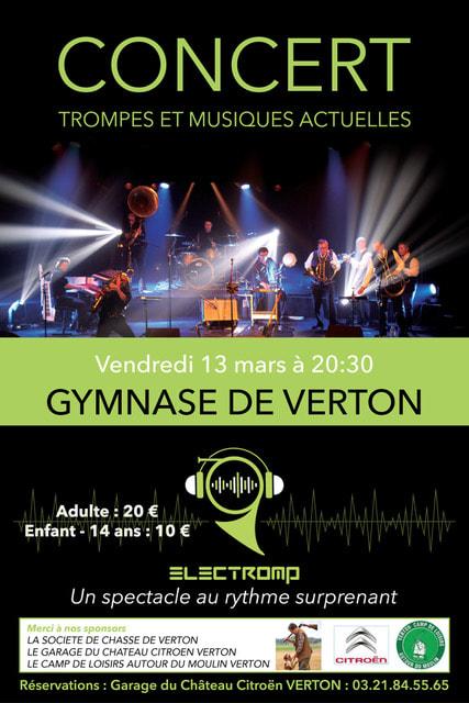 Concert Electromp à Verton le 13 mars