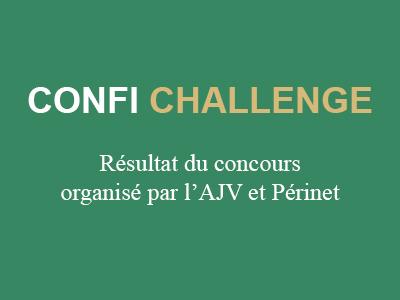 Résultat du Confi challenge Périnet AJV