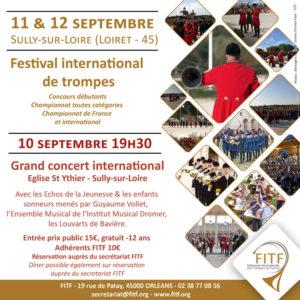 Affiche festival international de trompe de la FITF